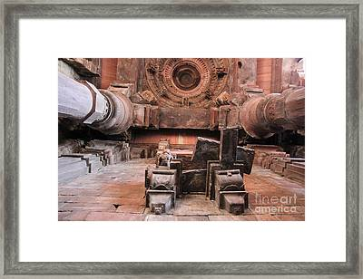 Laying On The Ground And Look Up Framed Print by Four Hands Art