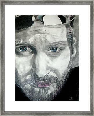 Layne Staley Framed Print by Art by Kar