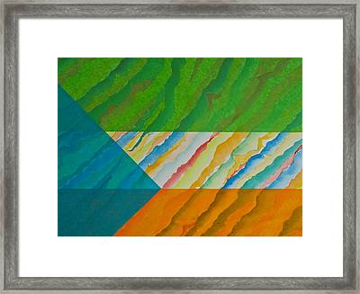 Layover Framed Print by Michele Myers