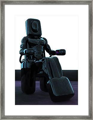 Laz-ee-boy Framed Print