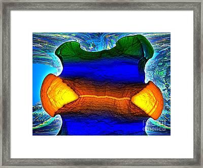 Lazuli  Framed Print