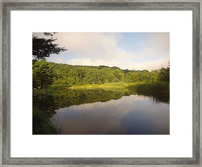 Framed Print featuring the photograph Lazy Afternoon by Michael Porchik
