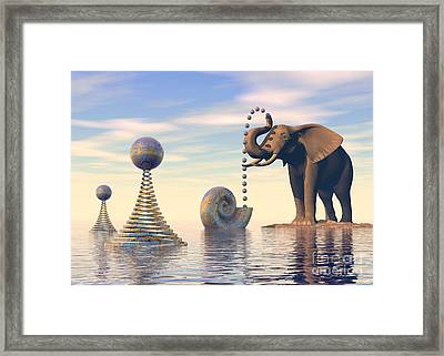 Lazy Afternoon Framed Print by Sipo Liimatainen