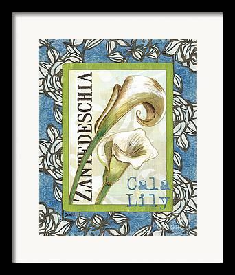 Cala Lily Framed Prints