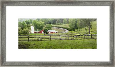 Lazy Hazy Summer Framed Print by Bill Wakeley