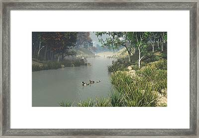 Lazy River Framed Print