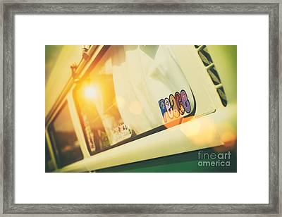 Lazy Summer Days Framed Print
