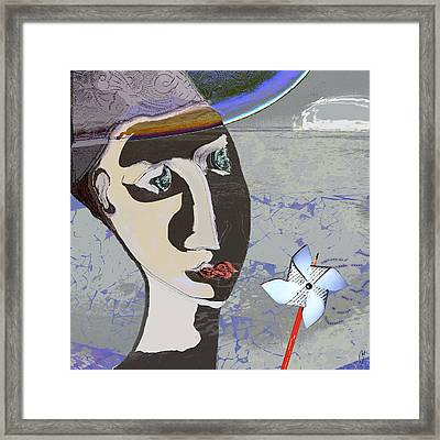 Lazying On A Sunny Afternoon Framed Print by Maria Jesus Hernandez