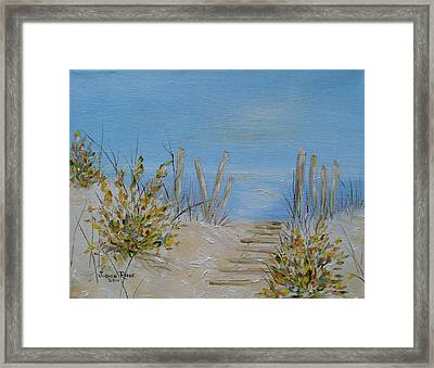 Lbi Peace Framed Print