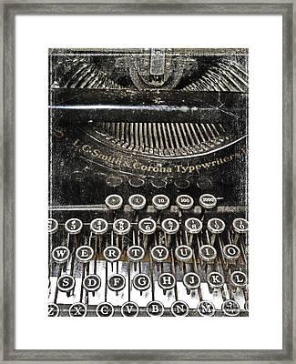L.c. Smith Framed Print