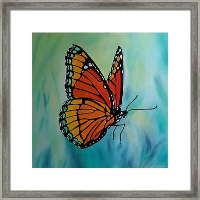 Le Beau Papillon Framed Print by Jo Appleby