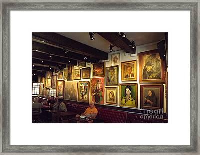 Le Cafe D'art Framed Print by France  Art