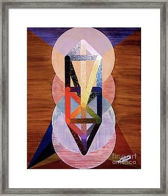 Le Chariot - Otz Chiim Framed Print by Michael Bellon