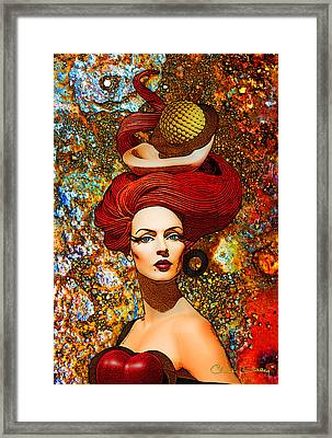 Le Cheveux Rouges Framed Print by Chuck Staley