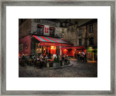 Le Consulat Framed Print by Douglas J Fisher