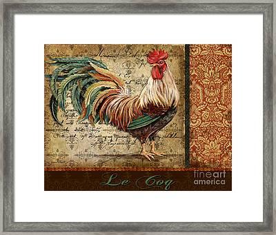 Le Coq-g Framed Print