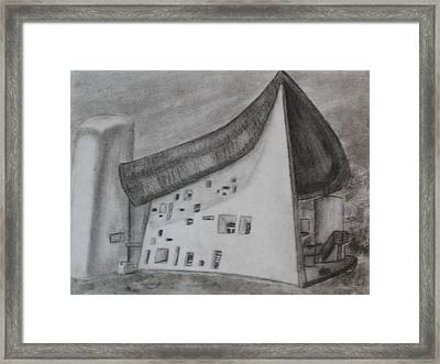 Le Corbusier Framed Print by Thomasina Durkay