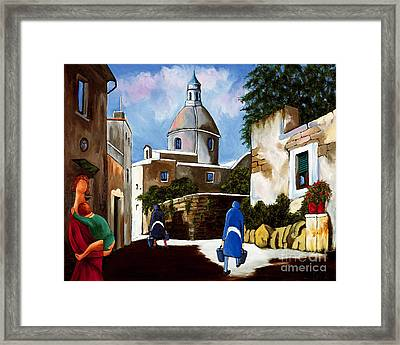 Le Dome Framed Print