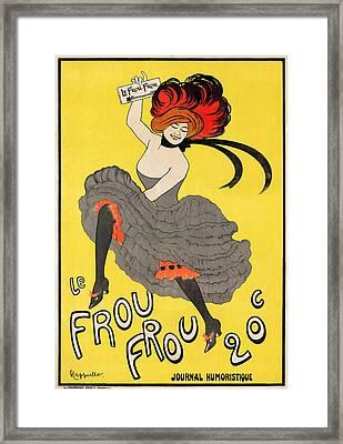 Le Frou Frou Framed Print