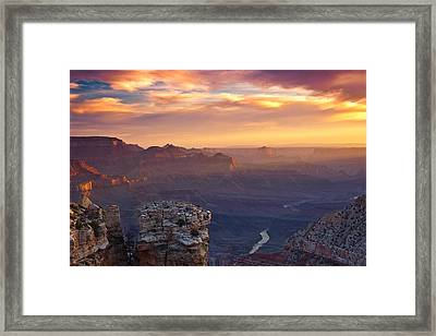 Le Grand Sunrise Framed Print by Darren  White