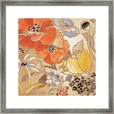 Le Jardin I Framed Print by Lanie Loreth