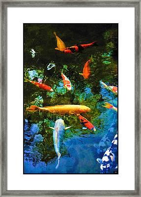 Le Koi De Matisse Framed Print