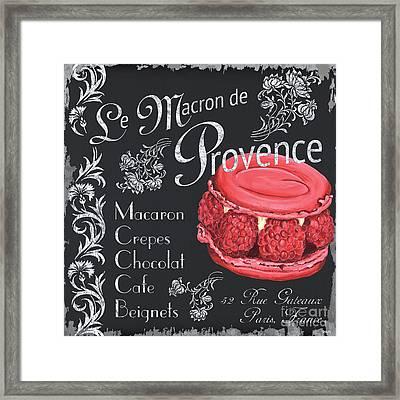 Le Macron De Provence Framed Print by Debbie DeWitt