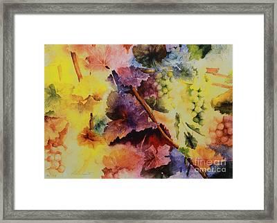 Le Magie D' Automne Framed Print