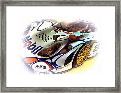 Le Mans 1998 Porsche 911 Gt1 Framed Print by Olivier Le Queinec