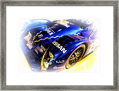 Le Mans 1999 Courage Nissan C52 Framed Print by Olivier Le Queinec