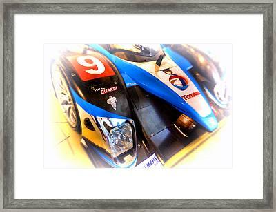 Le Mans 2003 Peugeot Courage Pescarolo C60 Framed Print by Olivier Le Queinec