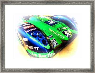 Le Mans 2009 Peugeot 908 Hdi Fap Framed Print by Olivier Le Queinec