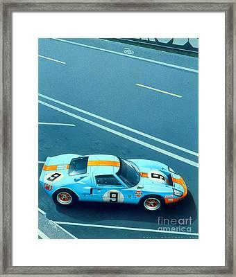 Le Mans 68 Framed Print by MGL Meiklejohn Graphics Licensing