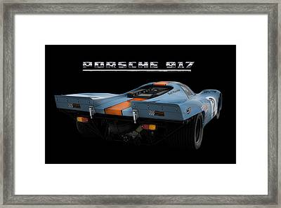 Le Mans King 2 Framed Print by Peter Chilelli