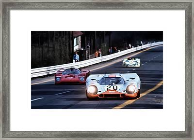 Le Mans Legend Framed Print