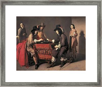Le Nain, Mathieu 1607-1677. The Framed Print