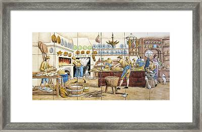 Le Patissier By Diderot Framed Print by Julia Sweda