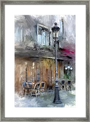 Le Petit Paris Framed Print