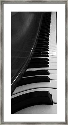 Le Piano Saisit Framed Print by Dan Sproul