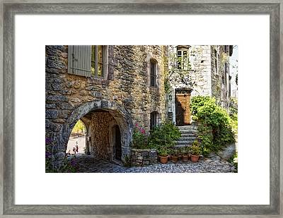 Le Plus Belle Village Framed Print by Joachim G Pinkawa