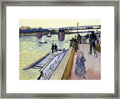 Le Pont De Trinquetaille Framed Print