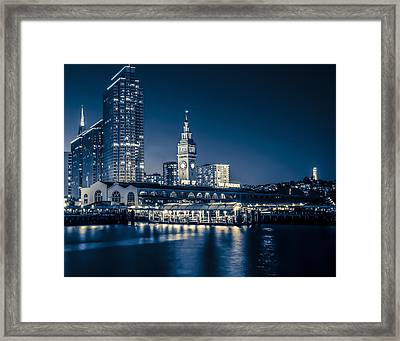 Le Port Framed Print
