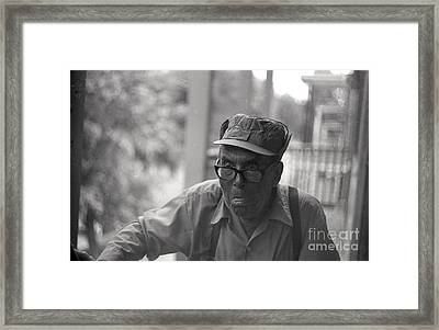 Le P'tit Philippe Framed Print by Andre Paquin