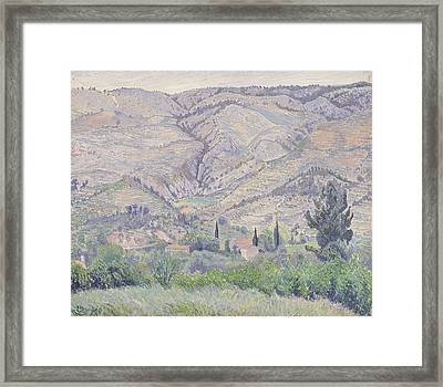 Le Ragas, Near Toulon, 1930 Framed Print by Camille Pissarro