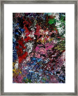 Le Regard Framed Print by Danya Hammoudi