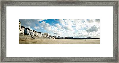 Le Sillon Framed Print by Stefan Hoareau