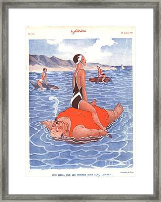 Le Sourire 1930s France Holidays Framed Print by The Advertising Archives