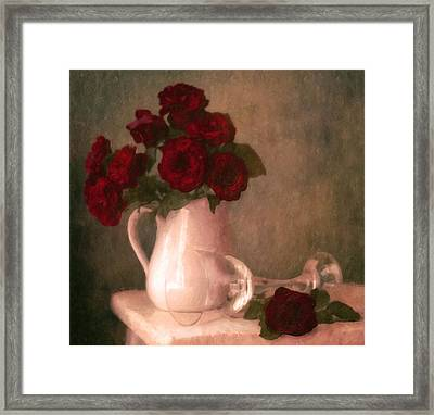 Le Spectre De La Rose Framed Print by Georgiana Romanovna