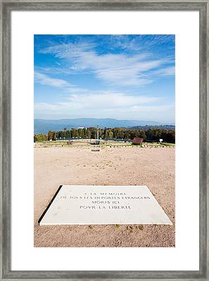 Le Struthof Former Nazi Concentration Framed Print by Panoramic Images