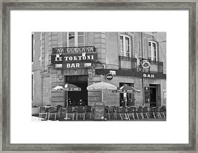 Le Tortoni Framed Print by Georgia Fowler